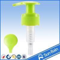 China No Spill Colorful plastic cream pump dispenser with 1.2cc output on sale