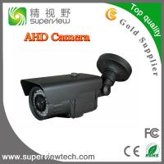 CMOS1.0 Megapixel AHD Camera with42pcs IR LED,2.8-12mm varifocal lens, waterproof Bullet camera Manufactures