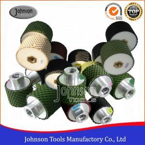 China 2 Inch 3 Inch  Diamond Drum Wheel , Diamond Sanding Drum With Resin Bond Material  on sale