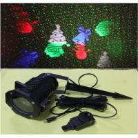 Outdoor Green+Red moving Firefly Landscape Laser with LED patterns projector