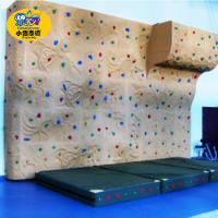 Custom Outdoor Kids Rock Climbing Wall For Amusement Parks Fire Resistance