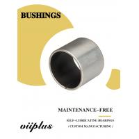 Stainless Steel Ptfe / Kevlar Fabric Lined Split 316 Composite Bearings Flanged Bushes Manufactures