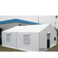 6m Width White Military Army Tent Waterproof Pvc Cover With Screen Windows Manufactures