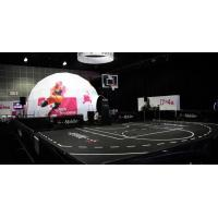 China White Diy Pictures Outdoor Spherical Tent With Sports Advertisement And Business Logo on sale