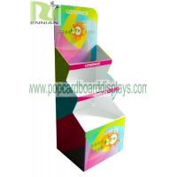 China Color printing cup Corrugated Cardboard Display stand glossy lamination ENCC125 wholesale