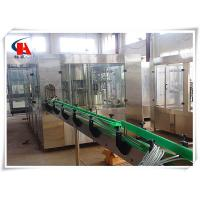 Ice Tea Automatic Liquid Filling Machine 16000 - 20000BPH Output For Plastic Bottles Manufactures