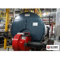 Professional Gas Fired Steam Boiler Horizontal Type Automatic PLC Control For Ironing Manufactures
