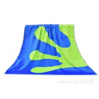 Double Sided Custom Woven Beach Towels , 100% Cotton Beach Towels