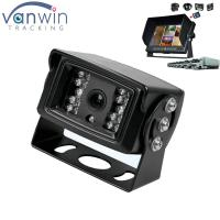 18 IR lights 24V HD Truck reverse camera with aviation connector , 15M IR distance Manufactures