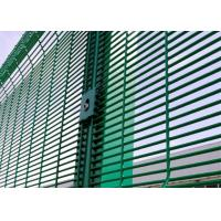 Quality Testing I Powder Coating 358 Security Wire Mesh Fence Manufactures