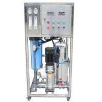 500GPD Reverse Osmosis Water Purification Machine , Industrial Ro Water Purifier Manufactures