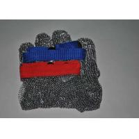Food Grade Stainless Steel Metal Mesh Butcher Gloves Cut Resistant Size Multiple Manufactures