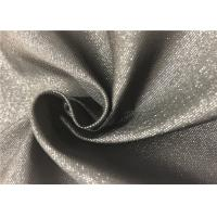 Black Fiber PVC Backed Polyester Fabric Durable Resistant To Bleach / Oxidants