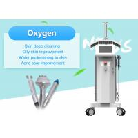 Multifunction LED PDT Water Oxygen Beauty Machine For Facial Cleaning / Skin Whitening Manufactures