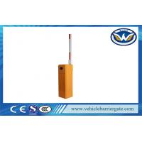 Orange Intelligent Automatic Road Boom Barrier Gate With Limit Switch Manufactures