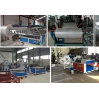High Efficiency Band Strapping Machine / PE Air Cushion Film Production Line Manufactures
