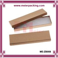 China Kraft Brown Cardboard Jewelry Boxes  ME-ZB008 on sale