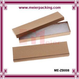 China Kraft Brown Cardboard Jewelry Boxes  ME-ZB008 on sale