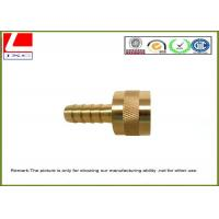 High Speed Precision CNC Machined Components Brass shaft For Electronics Manufactures