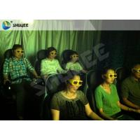 Movie Rides 5D Movie Theater 5D Cinema Equipment With Black / Red Chair Manufactures