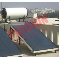 High Powered Flat Plate Solar Water Heater 150 Liter Long Service Life Manufactures