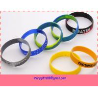 China country silicone bracelets,rubber silicone bracelets on sale