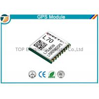 GPS Receiver Module L70 With Patch Antenna for personal tracking Manufactures