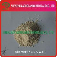 Buy cheap Antibiotic Agent Abamectine 96%TC 95%TC 1.8%EC 3.6%EC 5%EC 3.6%WP from wholesalers