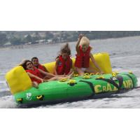 Outdoor Inflatable Water Park Sports , Inflatable Towable Water Sofa Manufactures