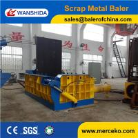China Hand valve control China Hydraulic Metal Balers compress waste steel on sale