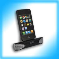 China charger speaker for IPHONE 3G/4G on sale