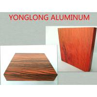 6063 T5 Wood Finish Aluminium Profiles High Durability / Aluminum Extrusion Window Frame Manufactures