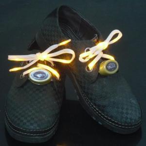Green Nylon LED Flashing Shoelace Wholesale Manufactures