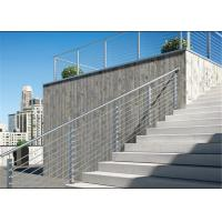 Outdoor Stainless Steel Railing Balustrade Fencing For Contractor / Builder Manufactures
