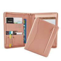 PU Leather Portfolio Folder For Business People / College Students Manufactures