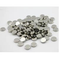 D9.5mm * 3mm Rare Earth Ndfeb Round Neodymium Disc Magnets For Speaker N35 OEM Manufactures