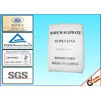 Superfine Natural Barite Powder For Paper Industry CAS No. 7727-43-7 Manufactures