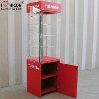 Floor Standing Led Lighted Acrylic Display Case For Electronic Products Advertising Manufactures