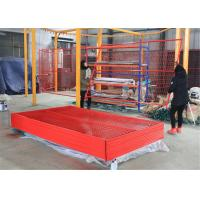 """Canada temporary Construction Fence H 6'/1830mm and W 9.6' /2950mm tubing 1"""""""
