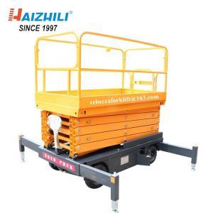China Aloft Work Traction Heavy Duty Scissor Lift Multi Fuctional Safety Guaranteed on sale