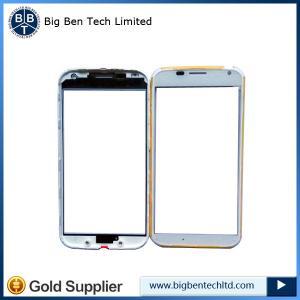 China OEM Motorola Moto X XT1058 XT1060 glass lens screen with front bezel frame housing on sale