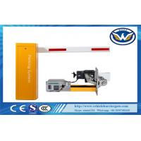 Buy cheap Aluminum Alloy Arm Security Barriers And Gates DC Brushless Motor With Hall from wholesalers