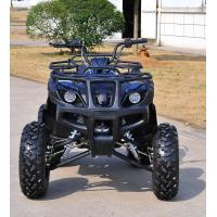 Black 150CC EEC Quad Bike With Reverse And Rear Mirriors For Adult Manufactures