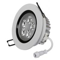 China Longbright Driver 8W 4Inch 810LM 3500K SMD 3 Chips Round Recessed LED Ceiling Downlight on sale
