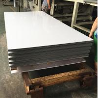 White Aluminium Composite Sheet Brushed Surface For Building Exterior Wall Manufactures