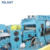Durable Steel Coil Cut To Length Line , Pickled Plate Stainless Steel Slitting Machine Manufactures