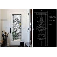 Fashion Tempered Decorative Glass Panels Wood Grain Clear Tinted  Black Patina Manufactures
