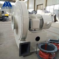China Biomass Boiler Dust Collector Fan SIMO Dust Extraction Fan White on sale