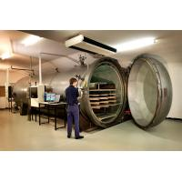 Laminated Glass Wood Autoclave Pressure For Automotive Industrial By PLC Controller Manufactures