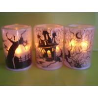 LED flashing tea-light Christmas LED candle Indoor decorated Halloween LED candle Flamless LED candle Manufactures